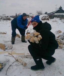 РЦ Малиновка, Дрова