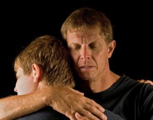 отец и сын - алкоголики