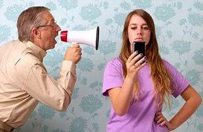 не слушать родителей