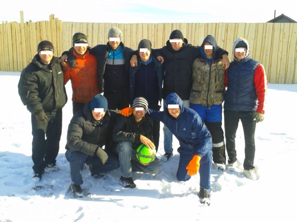 Футбол на снегу, РЦ Малиновка
