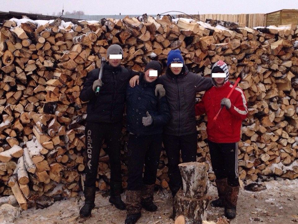 Колоть дрова