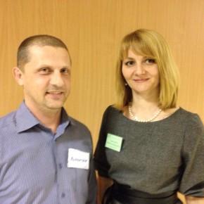 В. Пухов и С. Борисычева , 16 декадник по психотерапии и психологическому консультированию в Омске