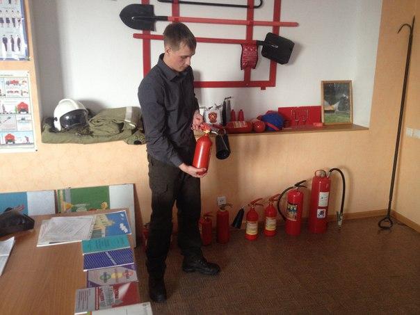 Пожарная безопасность в РЦ Малиновка