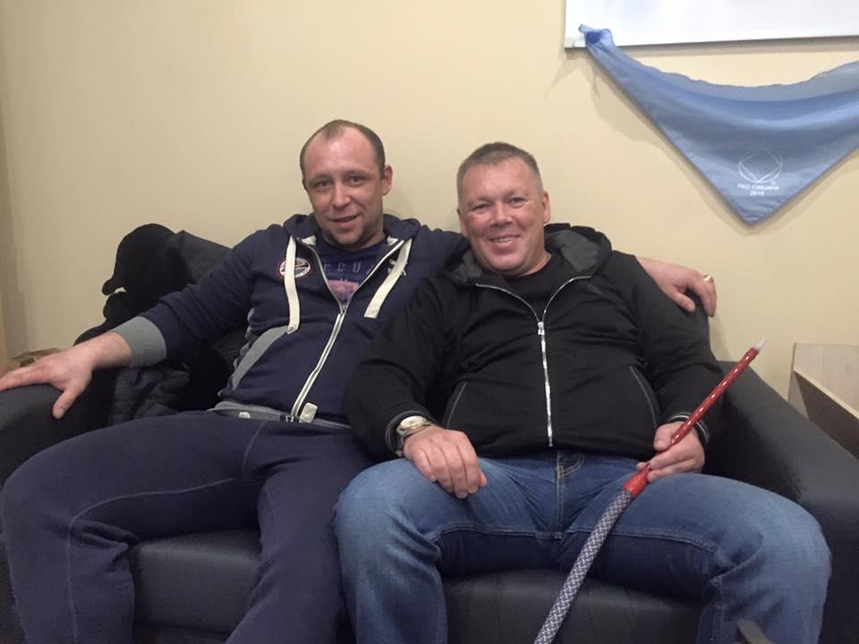 Руслан Молодцов и Антон Васильев. г. Омск, февраль 2016