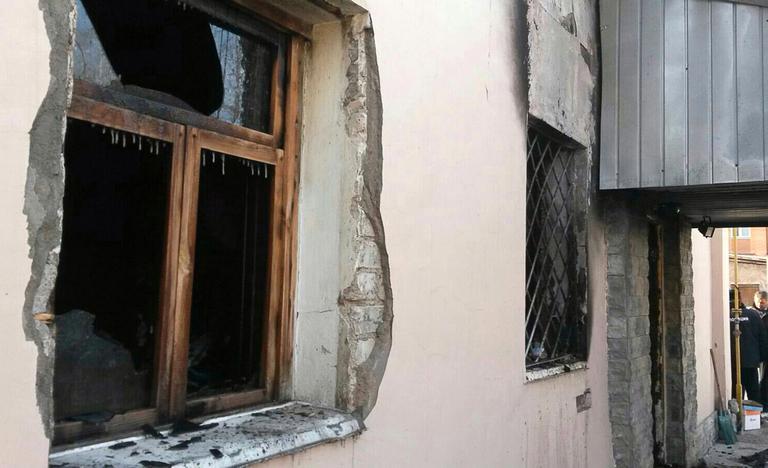 Пожар в Стерлитамаке