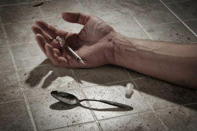 смерть от наркотиков