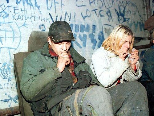 Наркоманы в России
