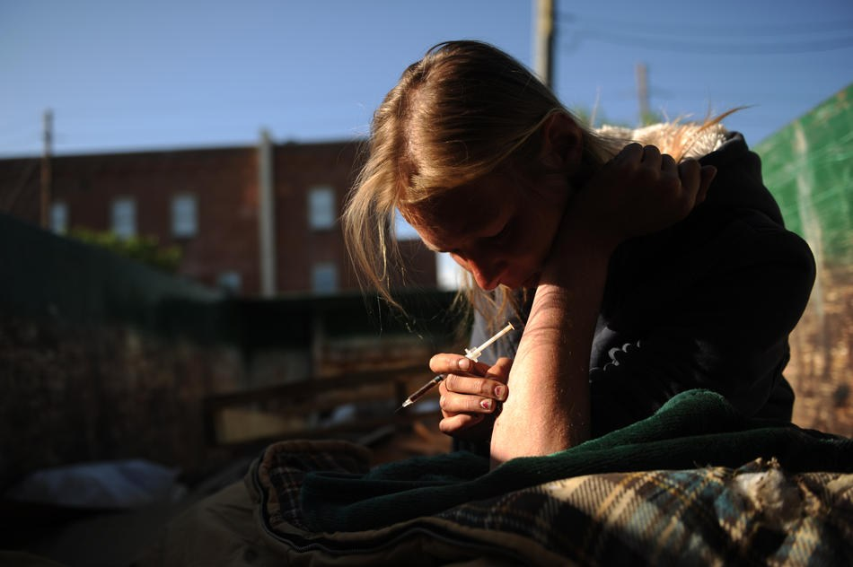 Наркомания среди женщин