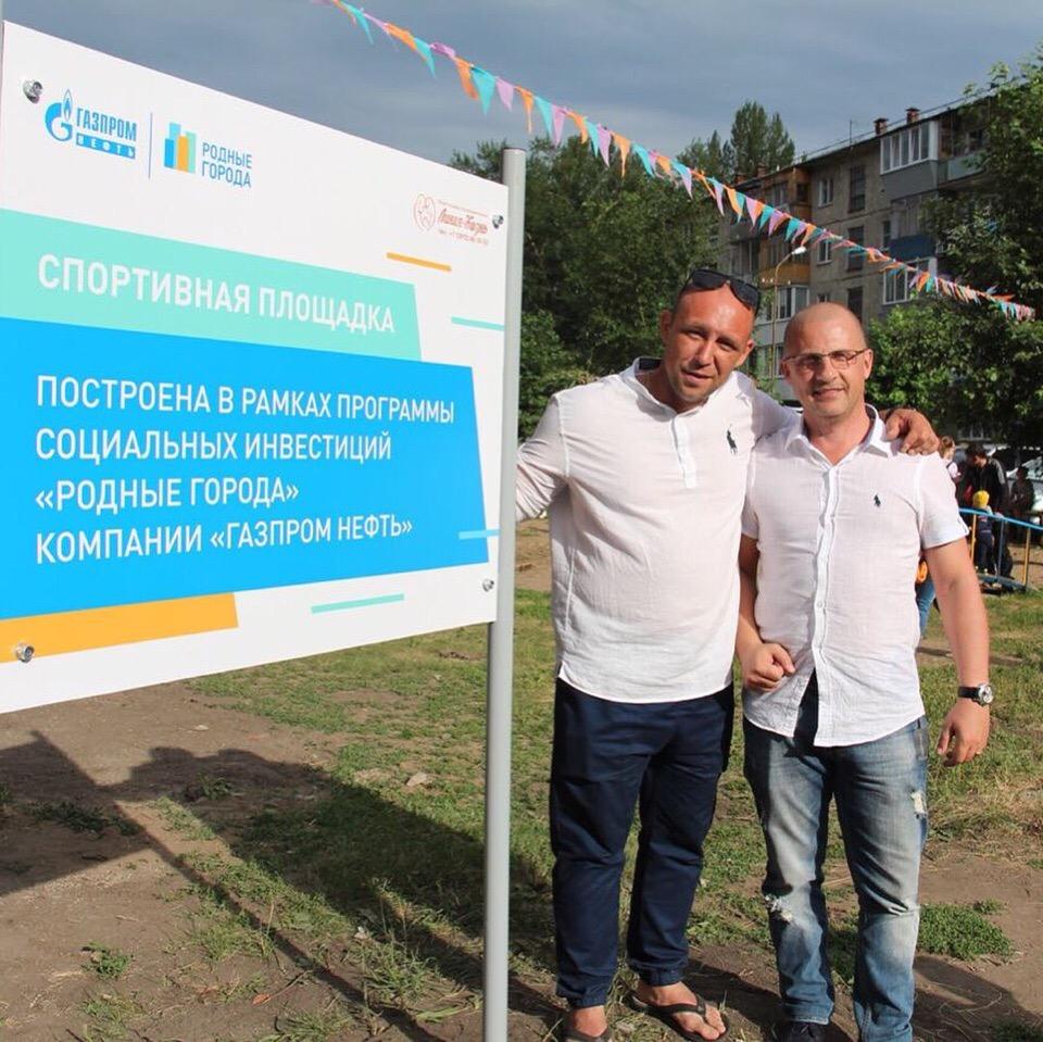 Площадка для воркаута в Омске