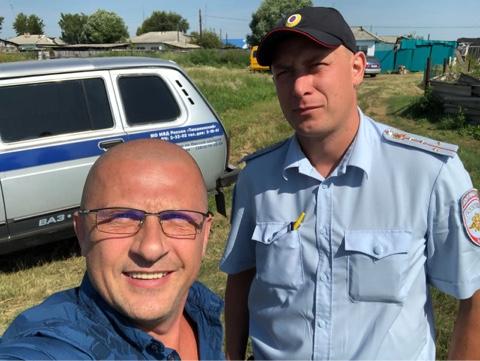 Акция в Тюкалинском районе по устранению конопли