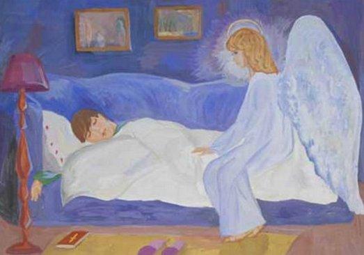 мама - ангел-хранитель